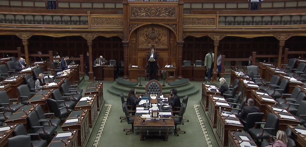 Photo of the ontario legislature